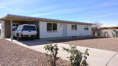 Tucson Single Family Home For Sale: 3826 E Frankfort Stravenue