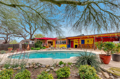 Tucson Single Family Home For Sale: 1720 S Carthage Place