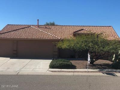 Tucson Single Family Home Active Contingent: 3278 S Thunder Chorus Road