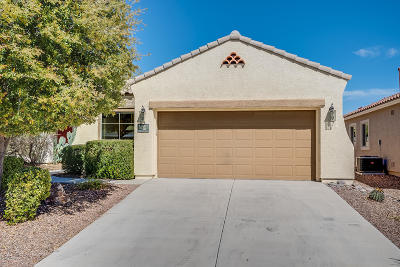 Sahuarita Single Family Home For Sale: 350 W Calle Montero