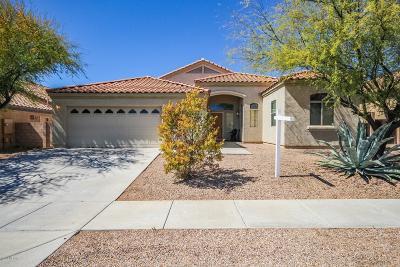 Tucson Single Family Home Active Contingent: 3546 S Desert Lantern Road