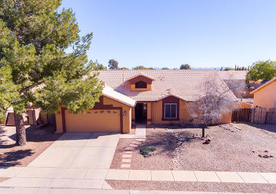 Tucson Single Family Home For Sale: 7959 S Muddy Creek Drive