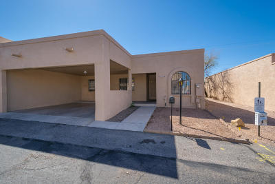 Oro Valley Townhouse Active Contingent: 238 E Calle Zafiro