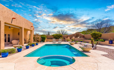 Vail Single Family Home Active Contingent: 16684 S Palo Verde View Place