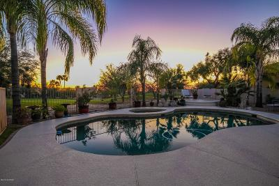 Oro Valley Single Family Home Active Contingent: 1907 W Desert Highlands Drive