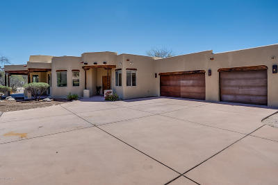 Tucson Single Family Home For Sale: 5445 N Agave Drive