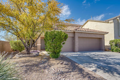 Sahuarita Single Family Home Active Contingent: 14340 S Via Trujal