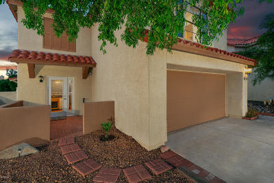 Tucson Single Family Home Active Contingent: 4622 W Lessing Lane