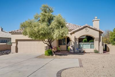 Single Family Home Active Contingent: 4883 N Sabino Springs Drive