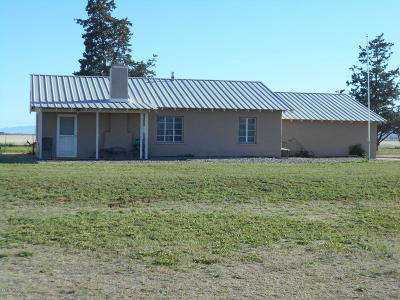 Willcox Manufactured Home For Sale: 8695 N Ingram Homes & 140 Acres Road