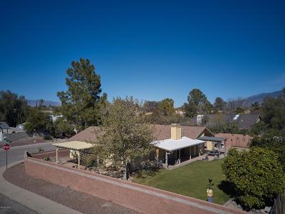 Tucson Single Family Home Active Contingent: 9944 E Stella Road