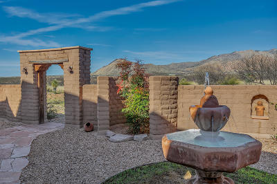 Cochise County Single Family Home For Sale: 6966 E Badger Trail