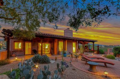 Tucson Single Family Home Active Contingent: 6560 E Valle Di Cadore