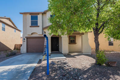 Tucson Single Family Home Active Contingent: 7021 S Blueeyes Drive