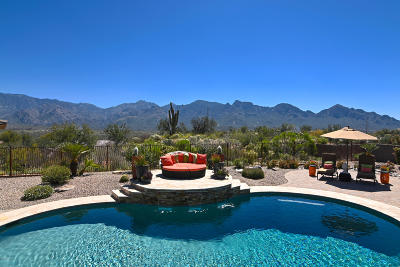 Oro Valley Single Family Home Active Contingent: 454 E Honey Bee Preserve Way