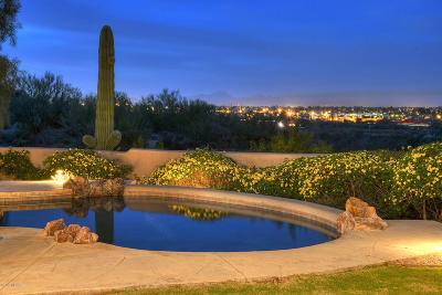 Tucson Single Family Home Active Contingent: 4236 N Via Bellas Catalinas