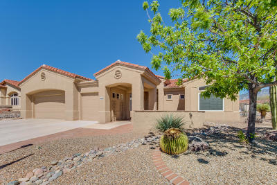 Oro Valley Single Family Home Active Contingent: 2145 E Bighorn Mountain Drive