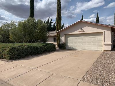 Sierra Vista Single Family Home For Sale: 5079 Calle Cumbre