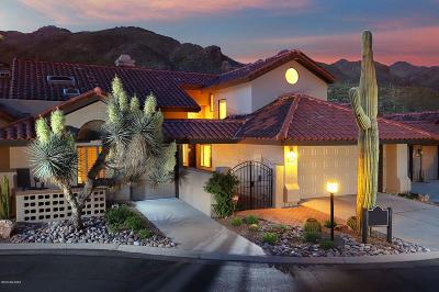 Tucson Single Family Home Active Contingent: 7281 E Grey Fox Lane