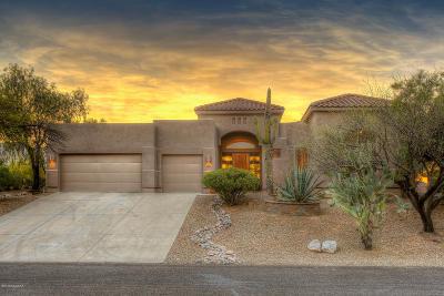 Tucson Single Family Home Active Contingent: 6224 N Camino De Corozal