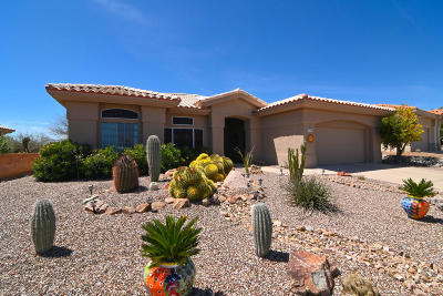Oro Valley Single Family Home Active Contingent: 14607 N Lost Arrow Drive