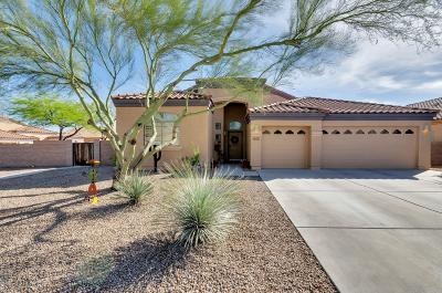 Tucson Single Family Home Active Contingent: 7093 W Autumn Gold Court