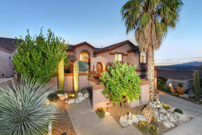 Single Family Home Active Contingent: 10103 N Bighorn Butte Drive