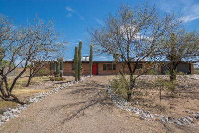 Tucson Single Family Home Active Contingent: 10000 N Silverbell Road