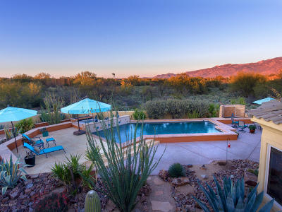 Oro Valley Single Family Home Active Contingent: 1150 W Ironwood Valley Drive