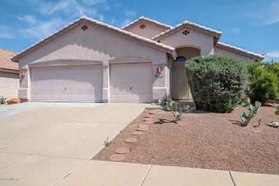 Tucson Single Family Home Active Contingent: 3852 W Orion Street