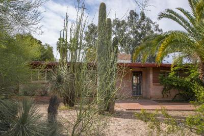 Tucson Single Family Home Active Contingent: 3804 E Calle De Soto