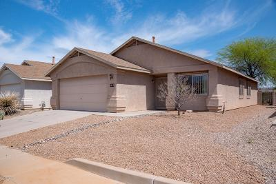 Pima County, Pinal County Single Family Home Active Contingent: 2015 S St David Drive