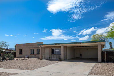 Tucson Single Family Home Active Contingent: 2310 W Sumaya Place