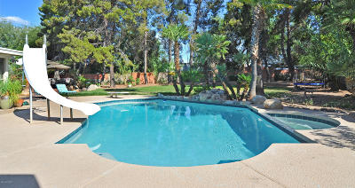 Single Family Home Active Contingent: 7016 E Hacienda Reposo