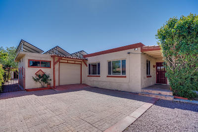 Tucson Single Family Home Active Contingent: 2514 N Fontana Avenue