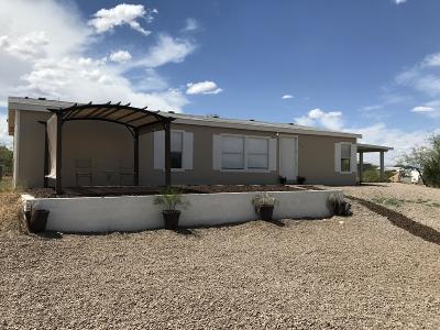Pima County, Pinal County Manufactured Home For Sale: 5926 E Diablo Sunrise Road