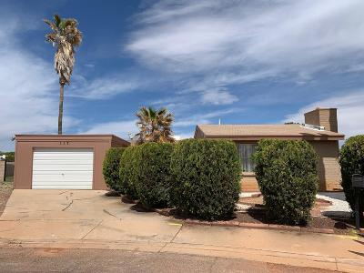 Sierra Vista Single Family Home Active Contingent: 117 Meadows Drive