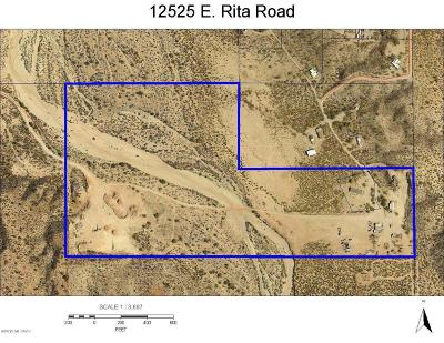 Pima County Residential Lots & Land For Sale: 12525 E Rita Road