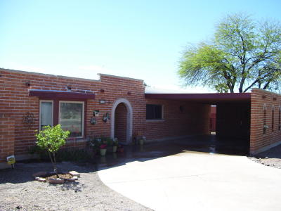 Tucson Single Family Home For Sale: 650 S Woodstock Drive