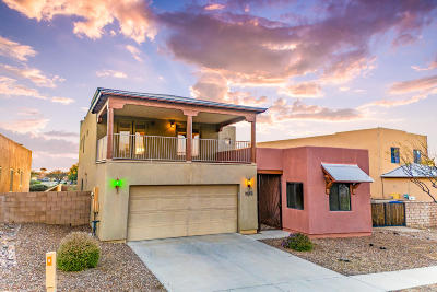 Single Family Home Active Contingent: 208 S Sycamore Creek Place
