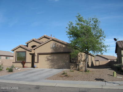Marana Single Family Home Active Contingent: 11095 W Brown Ware Street