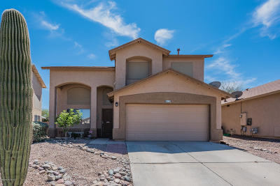 Tucson Single Family Home Active Contingent: 8639 S Desert Dove Drive