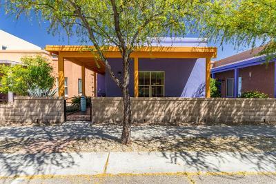 Tucson Single Family Home Active Contingent: 5241 S Civano Boulevard