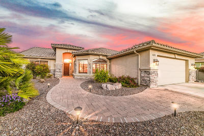 Single Family Home Active Contingent: 39277 S Winding Trail
