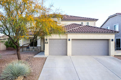 Sahuarita Single Family Home Active Contingent: 953 W Vuelta Olivero