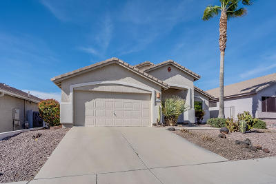 Single Family Home Active Contingent: 10201 E Lucille Drive