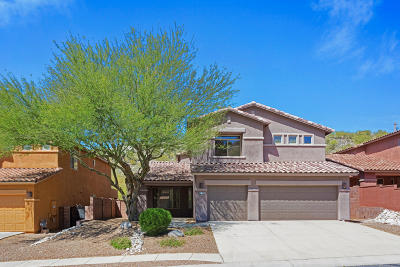 Sabino Mountain (1-290) Single Family Home For Sale: 4201 N Sunset Cliff Drive