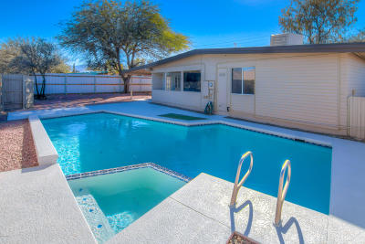 Single Family Home Active Contingent: 9201 E Speedway Boulevard