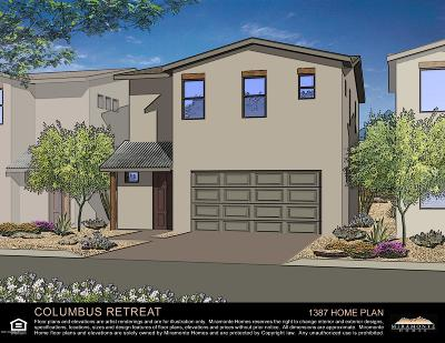 Tucson Single Family Home For Sale: 4287 E Columbus Park Place #Lot 1