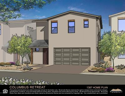 Tucson Single Family Home For Sale: 4231 E Columbus Park Place #Lot 8